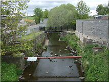 NS3938 : Carmel Water, Crosshouse by JThomas