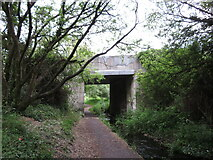 SN4400 : Former canal and railway route in Burry Port by Gareth James