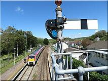SN3610 : Ferryside station by Gareth James