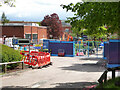 SO8754 : Worcestershire Royal hospital - Construction site, keep out! by Chris Allen