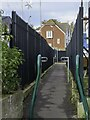 TQ7869 : The Saxon Shore Way in Gillingham by Steve Daniels