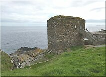 NJ9967 : The Wine Tower at Kinnaird Head by Oliver Dixon