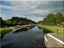 NH6140 : The Caledonian Canal at Dochgarroch by Douglas Nelson