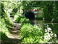 SP0070 : Towpath near the west portal of the Shortwood Tunnel by Mat Fascione