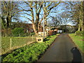 TA0859 : Outgate  Farm  now  on  a  No  Through  Road by Martin Dawes