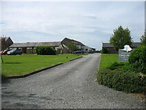 SH4765 : Cerrig y Barcud holiday cottages by David Purchase