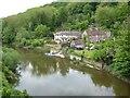 SJ6703 : Houses in Ironbridge by Philip Halling