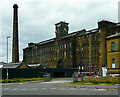 SE1030 : Black Dyke Mills, Queensbury by Humphrey Bolton