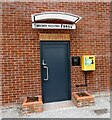 SJ9097 : Moorer facilities at Droylsden Marina by Gerald England