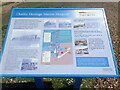 TQ4500 : Information board about the former Marine Hospital and nurses' accommodation at Tide Mills by Marathon
