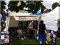 SP3165 : One World Link stall, Leamington Peace Festival by Alan Paxton