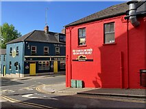 H4472 : Colourful buildings, Omagh by Kenneth  Allen