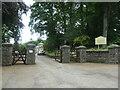 SD3776 : Entrance to Boarbank Hall, Boarbank Lane by Christine Johnstone