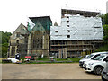 SO8001 : Woodchester Mansion - the north-east elevation by Chris Allen