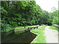 SE1015 : Lock near Milnsbridge, Huddersfield by Malc McDonald