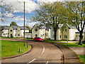 NU2415 : Longhoughton, Bader Crescent by David Dixon