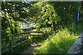 SO1122 : Path, Talybont-on-Usk by Derek Harper