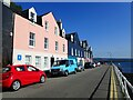 NM5055 : Gaily painted buildings on the seafront at Tobermory by Eirian Evans