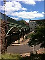 SX9192 : The Iron Bridge, Exeter by Alan Paxton
