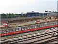 TQ2282 : Construction of HS2 Old Oak Common station by David Hawgood
