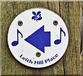TQ1343 : Leith Hill - Waymarker by Colin Smith