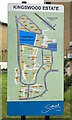 TQ3371 : Plan of the Kingswood Estate, East Dulwich by Robin Stott