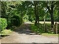 SJ7470 : Sandy Lane, north from Wash Lane by Stephen Craven