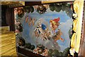 TQ1568 : Hampton Court Palace - Painted Ceiling (2) by Martin Tester