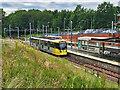 SD8402 : Bombardier Tram at Crumpsall by David Dixon