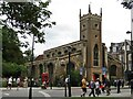 TL4458 : Cambridge - St Clement's Church by Colin Smith