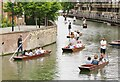TL4459 : Cambridge - Punting on the Cam by Colin Smith