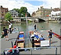 TL4458 : Cambridge - Punting on the Cam by Colin Smith