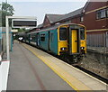 ST1871 : 150213 in Penarth station by Jaggery