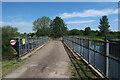 TL7098 : River Wissey aqueduct by Hugh Venables