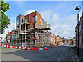 SK5738 : The Meadows: new houses going up by John Sutton