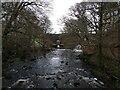 SD5553 : Abbeystead dam valve house from footbridge by shikari