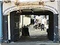 TL2371 : Huntingdon - Falcon Inn Pend by Colin Smith