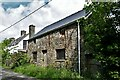 SN0717 : Llawhaden: Dwelling boarded up and seemingly unoccupied by Michael Garlick