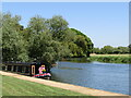 TL2471 : Huntingdon - River Great Ouse by Colin Smith