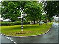 NY4348 : The village green, Wreay by Humphrey Bolton