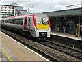 SS9079 : 175104 arriving at Platform 2, Bridgend station by Jaggery