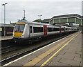 SS9079 : 170205 at Platform 1, Bridgend station by Jaggery