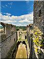 SE1287 : The Ruins of Middleham Castle by David Dixon