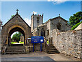 SE1287 : Middleham, the Church of St Mary and St Alkelda by David Dixon