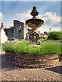 SE1287 : Queen Victoria Jubilee Fountain, Middleham by David Dixon