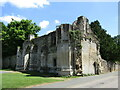 TL2985 : Ramsey Abbey Gatehouse by Colin Smith