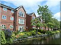 SJ3397 : Canalside flats, off Field Lane by Christine Johnstone