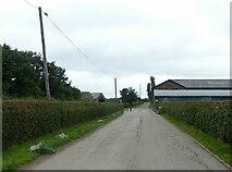 SK6644 : Bulcote Farm by Alan Murray-Rust