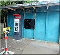 ST1880 : Ticket machine on Heath High Level station, Cardiff by Jaggery