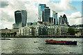 TQ3380 : City of London : tall buildings by Jim Osley